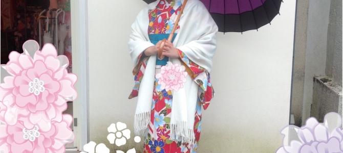 吐息真っ白な京都です❄️