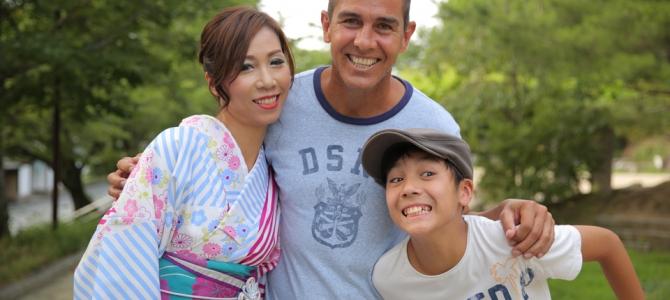 海外から素敵な家族で京都観光❤️❤️