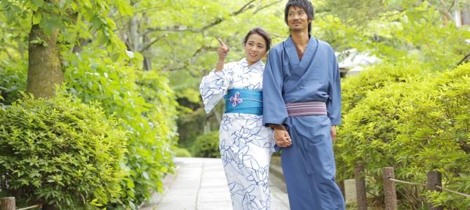 京都の夏を涼しく過ごせるローズの「おすすめ浴衣プラン」吸汗速乾ブランド浴衣