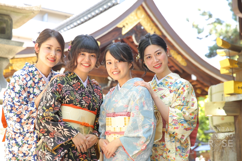 写真:女子旅×アンティーク着物でロケ撮 in 京都東山☆