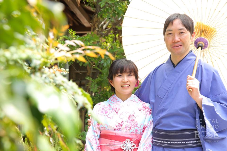 写真:結婚記念日に京都東山でロケーション撮影☆