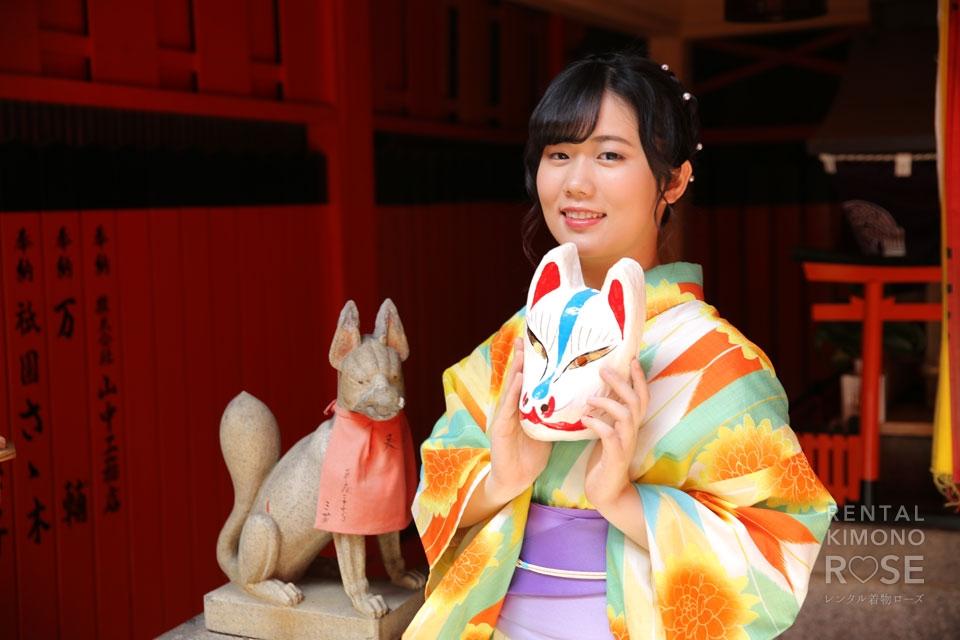 写真:夏の京都・祇園でロケーション撮影♪