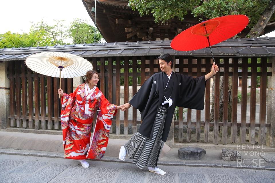 写真:新婚さんと婚礼ロケ撮影♡