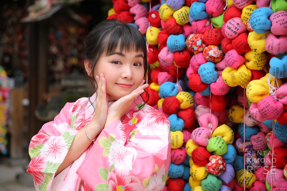 写真:海外からのお客様と、浴衣で夏の東山ロケ撮☆