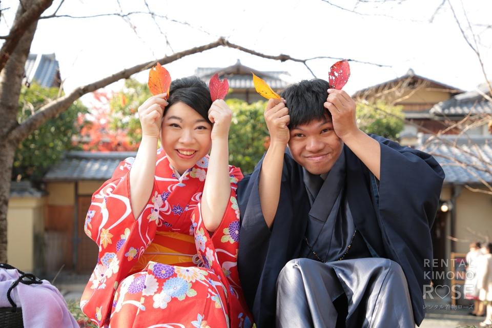 写真:海外から秋の京都東山でロケーション撮影☆