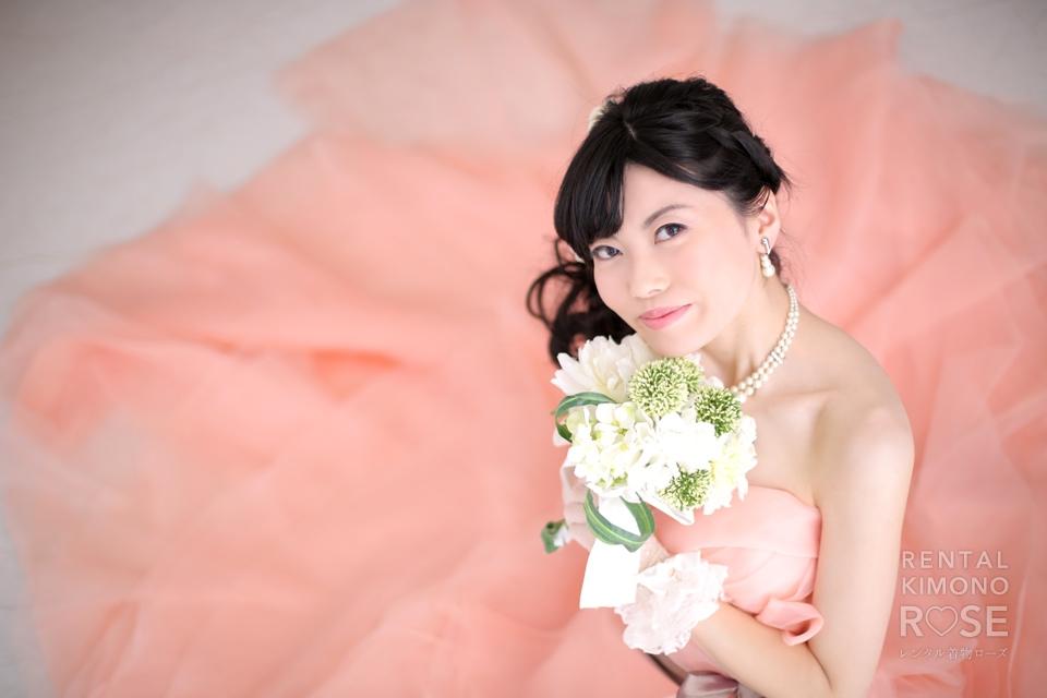 写真:ドレススタジオ撮影ポーズサンプル