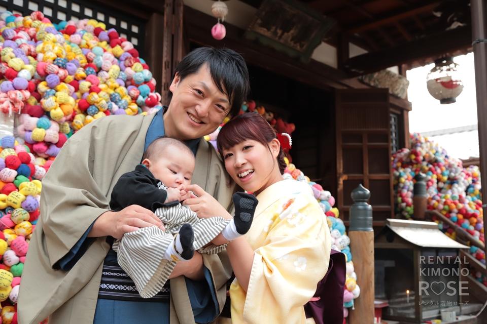 写真:家族で記念に東山ロケーション撮影☆