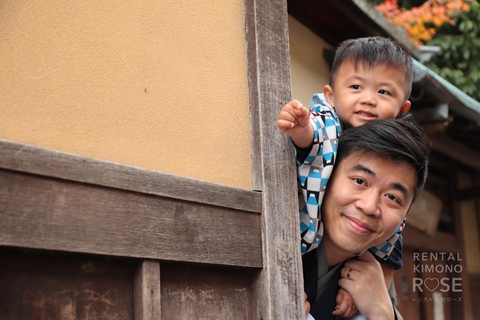 写真:海外からご家族で京都東山ロケーション撮影☆