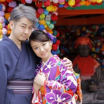 写真:LOVE100%(*・♡・)二人の鮮やかな想いを新緑が包む(*´∇`)