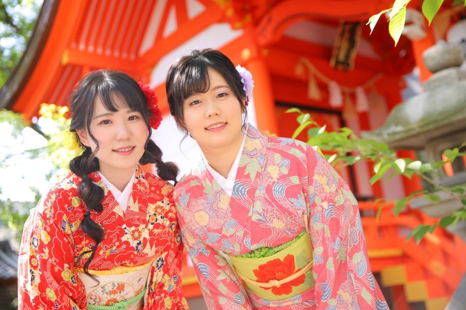 京都・東山の安井金比羅宮