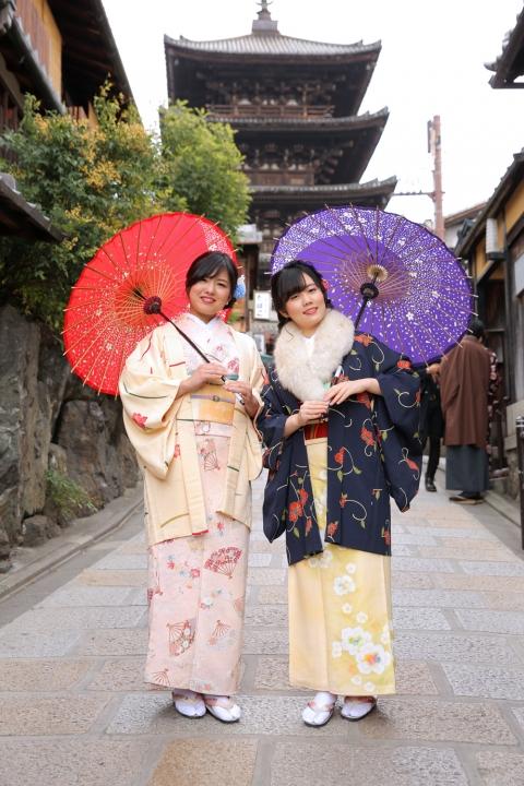京都・東山の八坂の塔