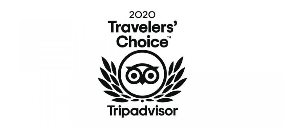 世界最大の旅行口コミサイト「トリップアドバイザー・トラベラーズチョイス2020 」選出