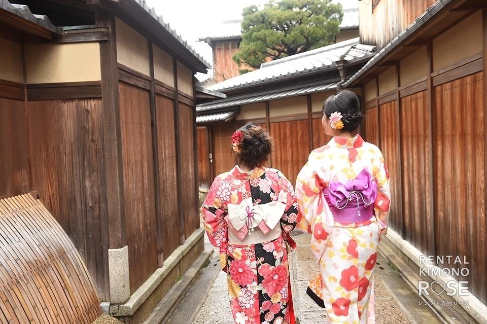 写真:着物で京都探索♪東山エリア