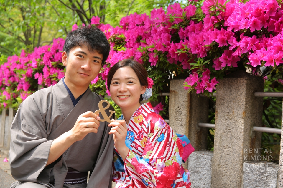 写真:新緑の京都東山でロケーション撮影☆