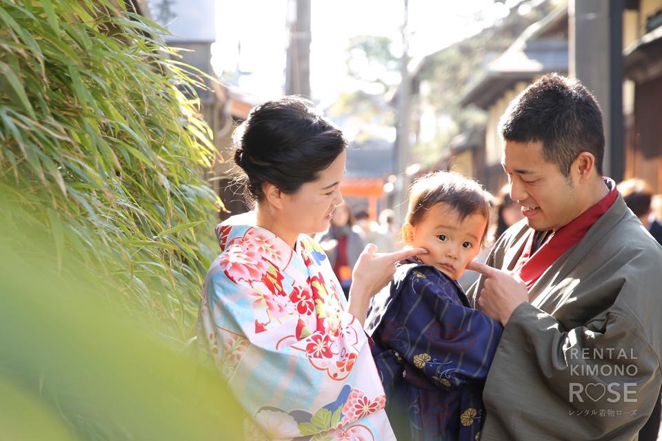 写真:家族でゆく、京都東山ロケーション撮影☆