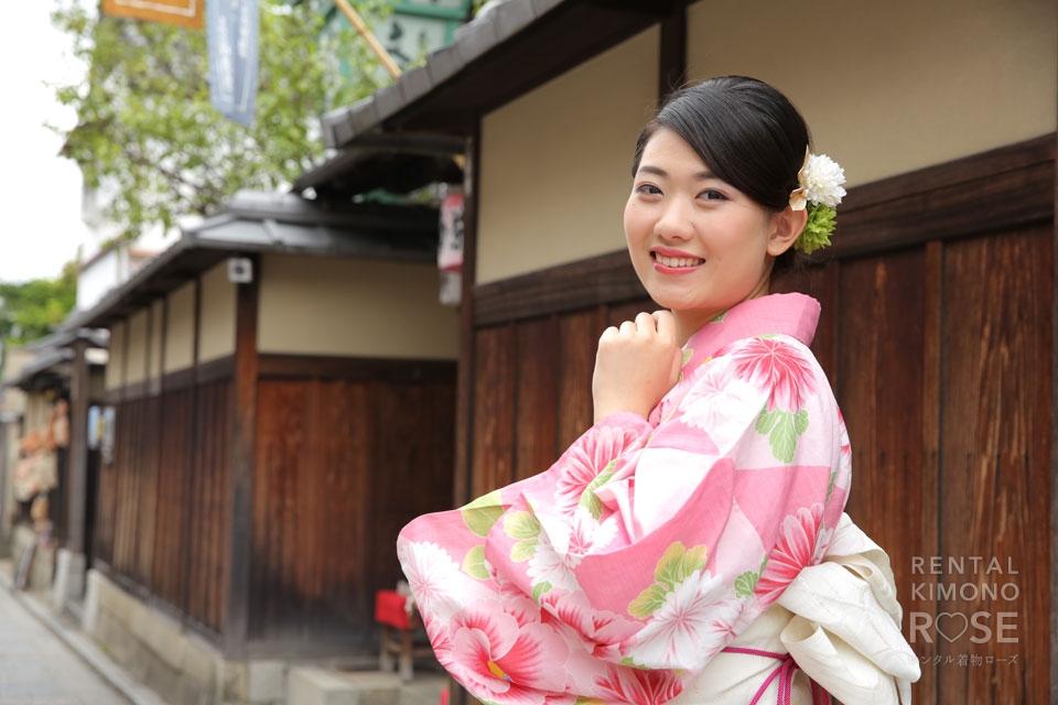 写真:とってもラブラブな海外からのお客様と!東山ロケ撮☆