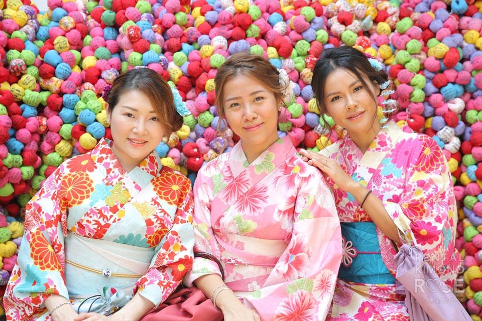 写真:海外から、真夏の京都東山でロケーション撮影☆