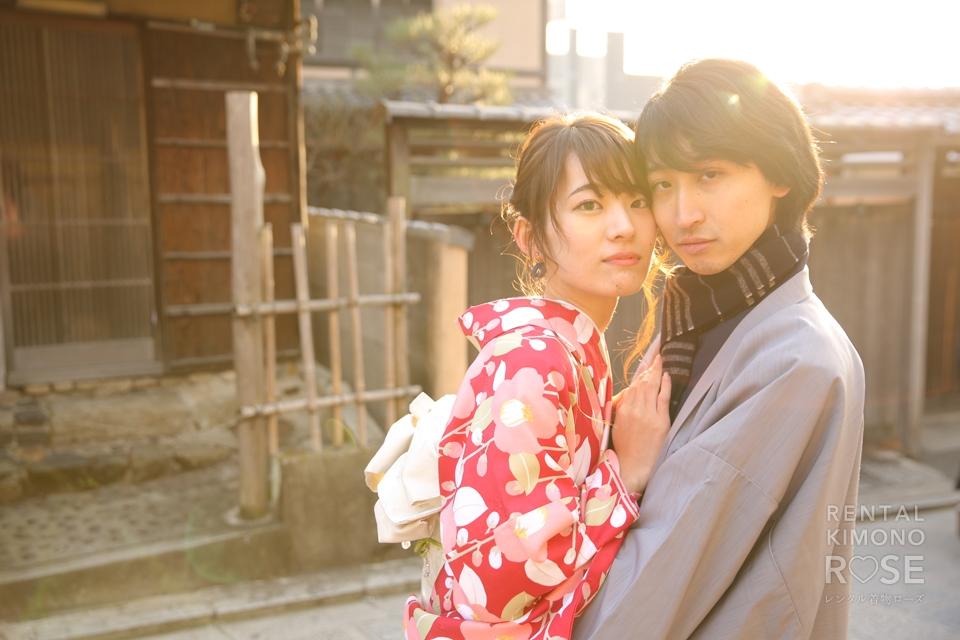 写真:カップルさんと京都東山ロケーション撮影♥︎