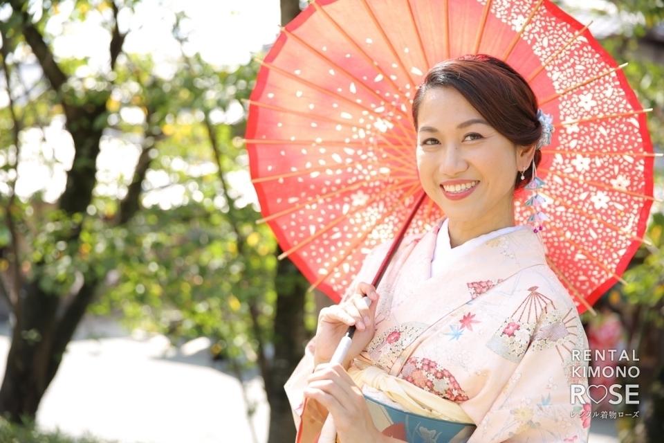 写真:京都・高台寺公園や八坂庚申堂で海外旅行親子ロケ撮影
