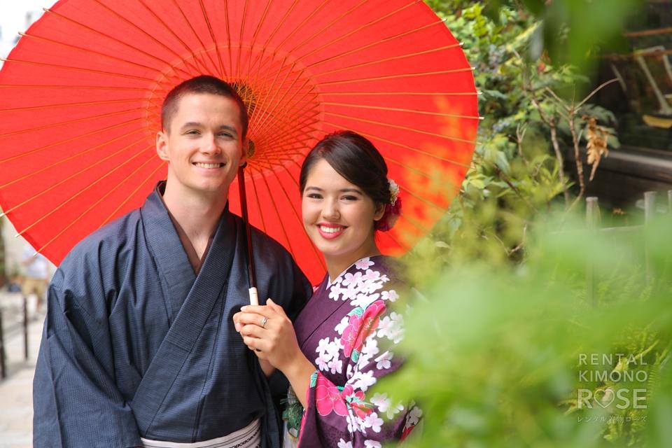 写真:海外からのステキなカップルさんと東山ロケーション撮影☆