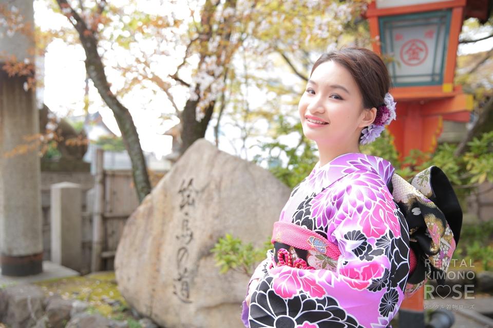 写真:海外からのお客様と、春の京都東山ロケーション撮影♥︎