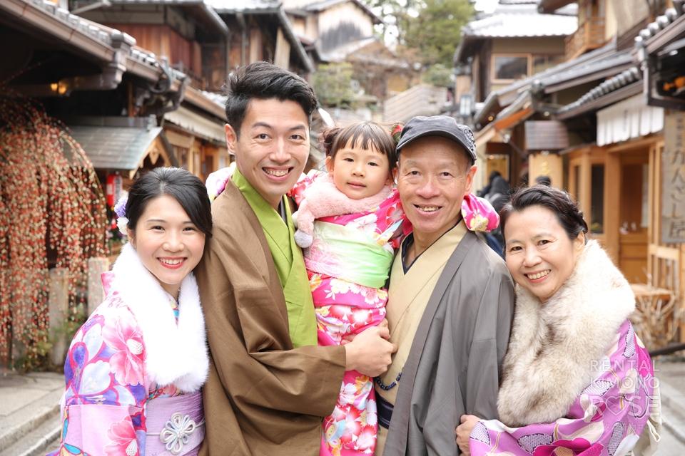 写真:家族旅行で京都東山ロケーション撮影☆