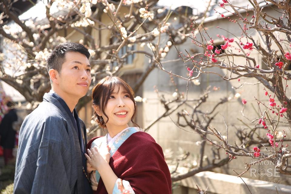 写真:梅香る八坂庚申堂など、京都東山でロケーション撮影☆