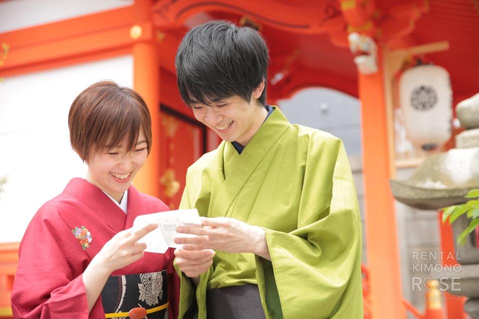 写真:桜咲く、春の東山でカップル×ロケーション撮影☆