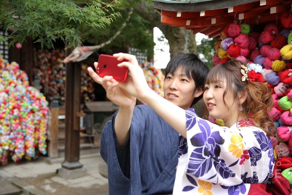 写真:仲睦まじいカップルさんと、東山ロケーション撮影☆