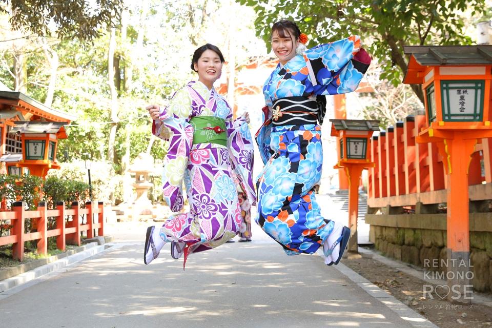 写真:春の京都東山、ロケーション撮影☆