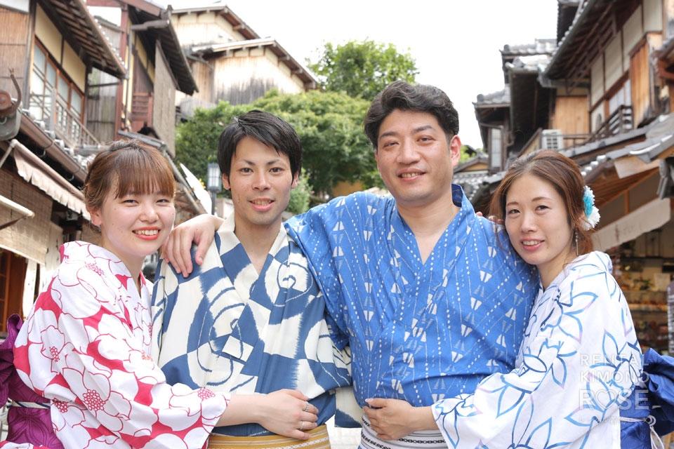 写真:リピーター様と一緒に京都ロケーション撮影☆