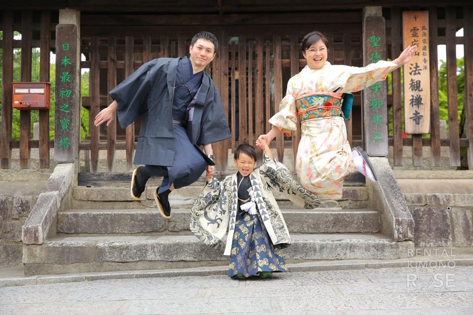 写真:家族で散策東山 with ロケ撮プラン☆