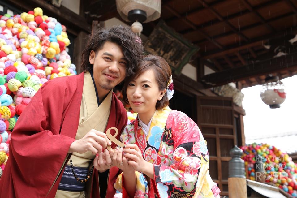 写真:海外から京都旅行で東山ロケーション撮影☆