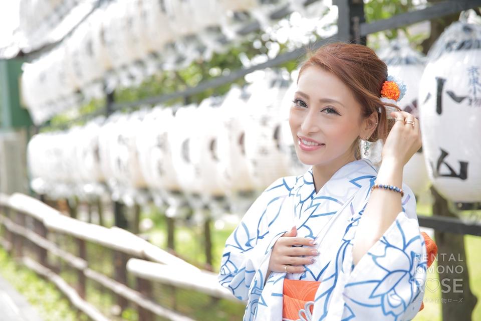 写真:美男美女のご家族と東山ロケ撮影