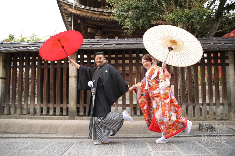 写真:婚礼ロケーション撮影/東山・八坂エリア