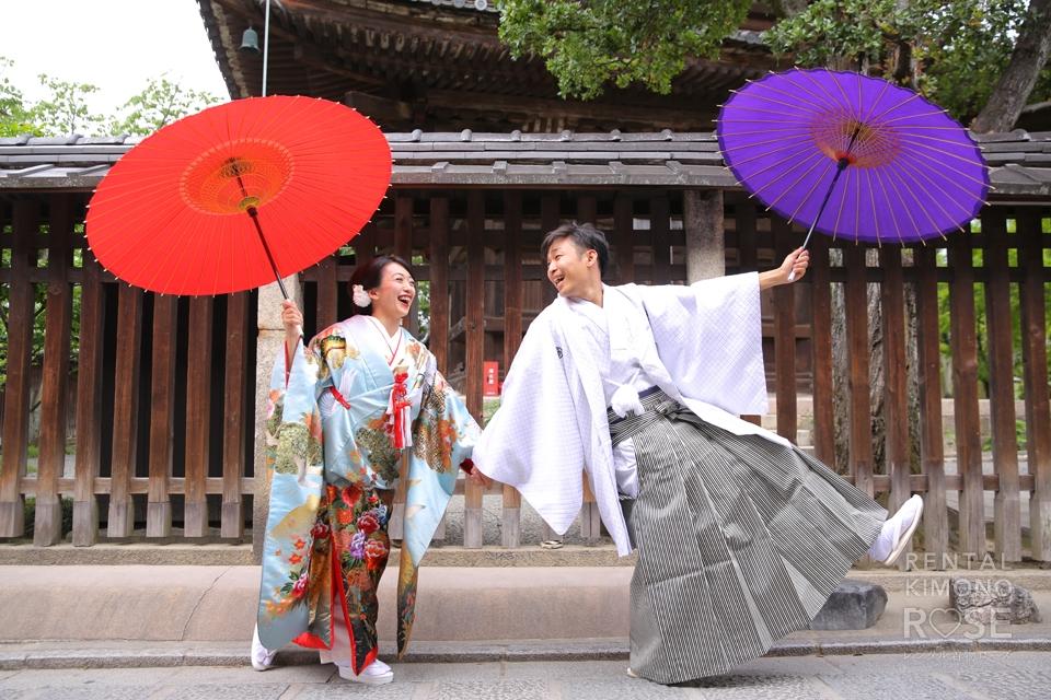 写真:京都東山で婚礼撮影☆