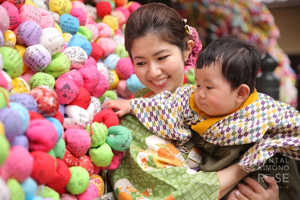 写真:可愛いくてカッコイイ侍くんとご家族で東山ロケ撮♡
