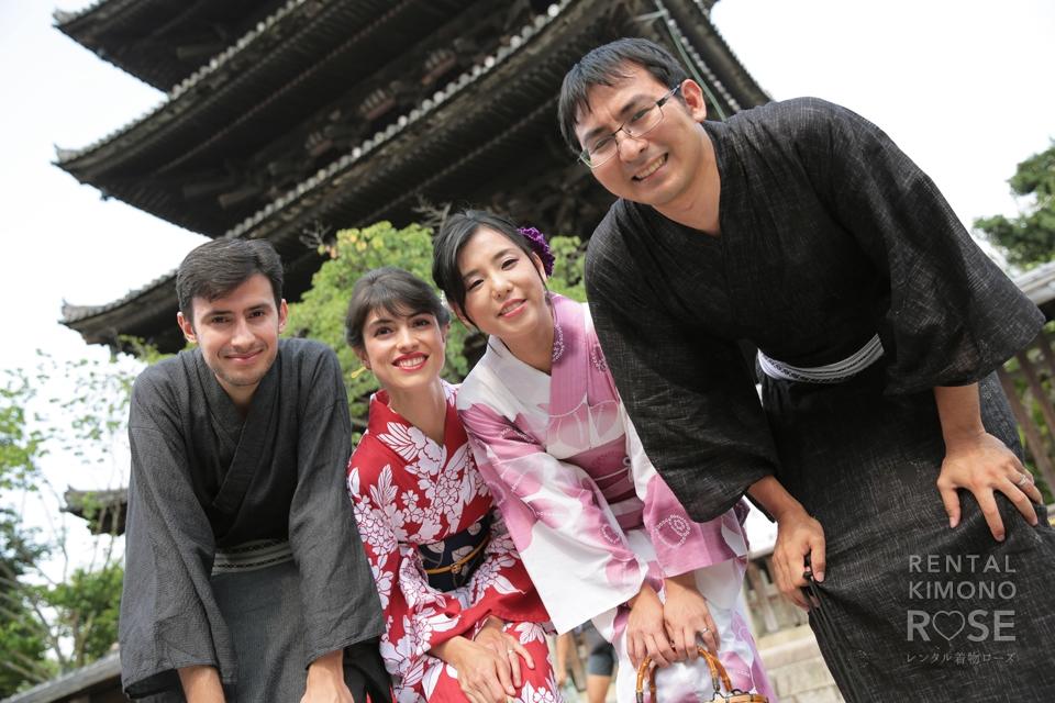 写真:ドイツから日本・京都観光で東山ロケロケーション撮影☆