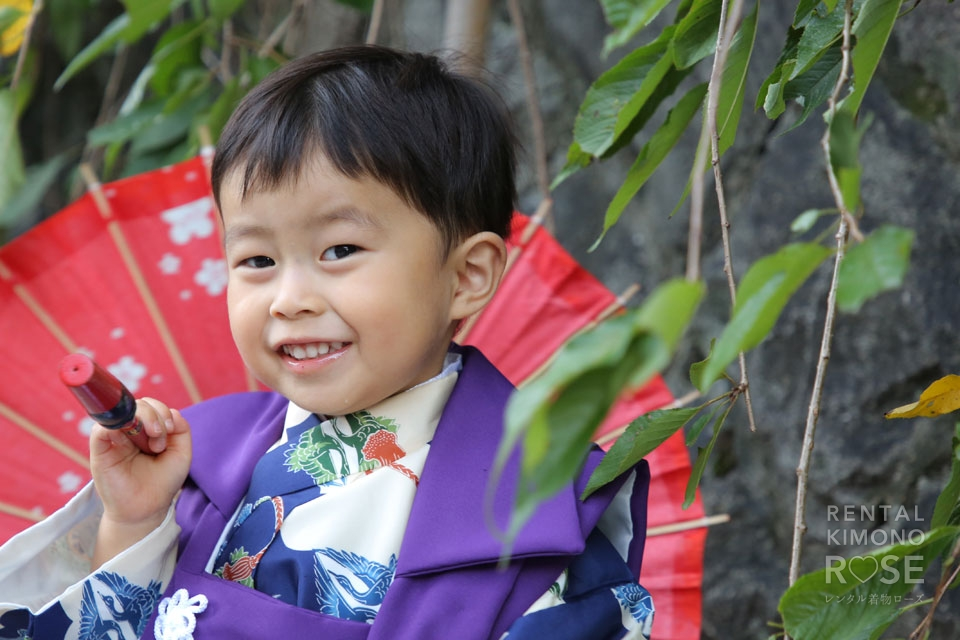 写真:京都東山で家族みんなで七五三ロケーション撮影