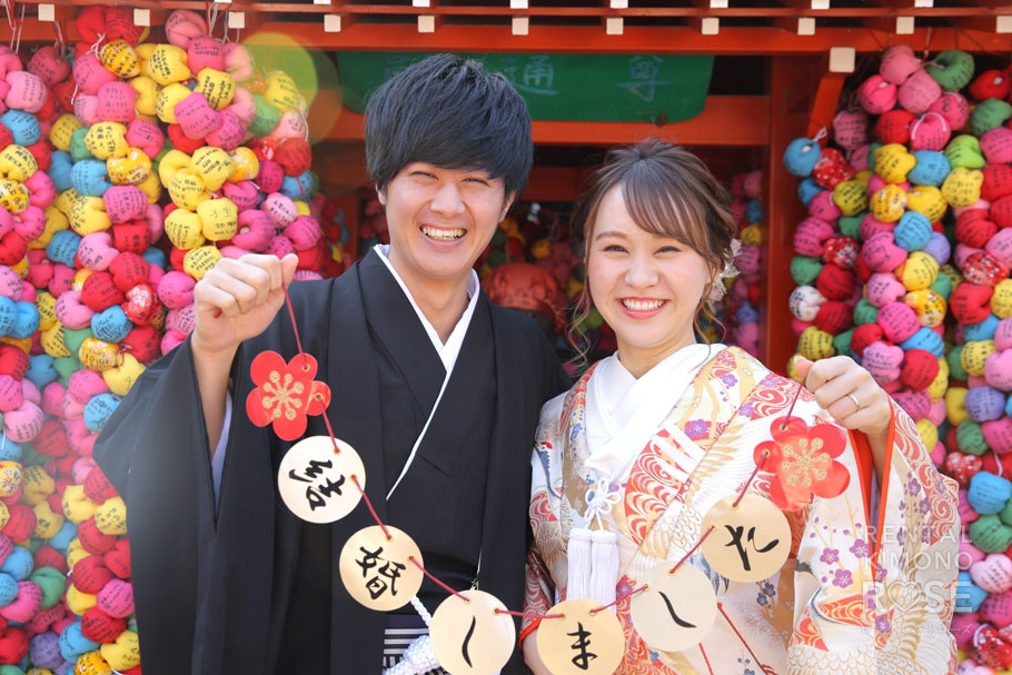 写真:京都東山で婚礼ロケーション撮影