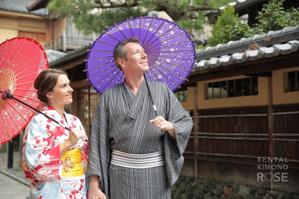 写真:フランスから新婚旅行のお2人と東山ぶらりロケ撮!