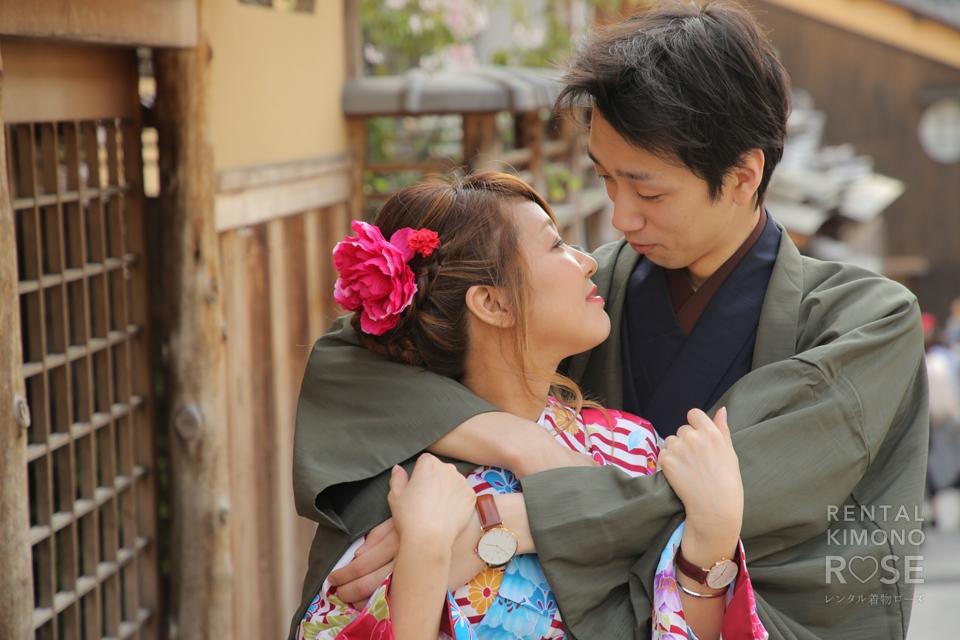 写真:結婚式の写真素材として!新婚様と東山ロケ撮影