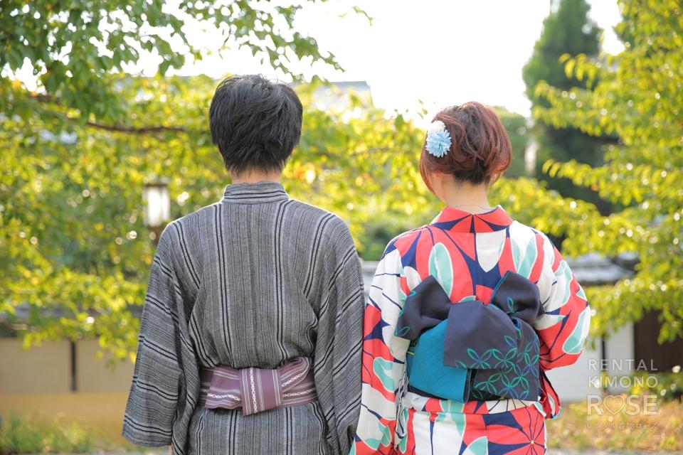 写真:東山ロケ撮で夏を満喫☆