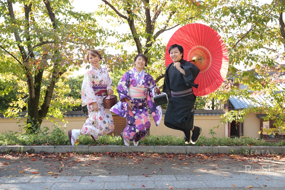 写真:ご家族で京都東山観光ロケーション撮影☆