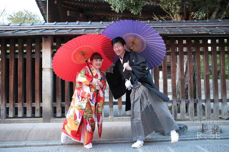 写真:京都東山婚礼撮影♥︎