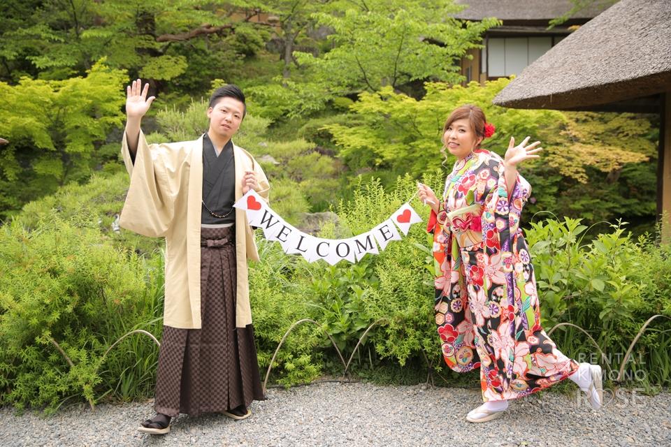 写真:結婚式の素材撮影に東山ロケ撮☆
