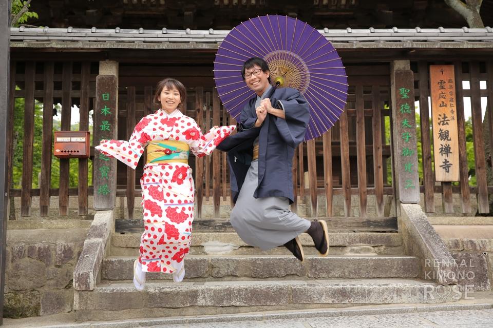 写真:春の東山でカップルさんとロケ撮☆