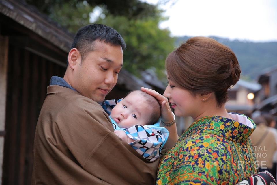 写真:家族で東山ロケーション撮影☆