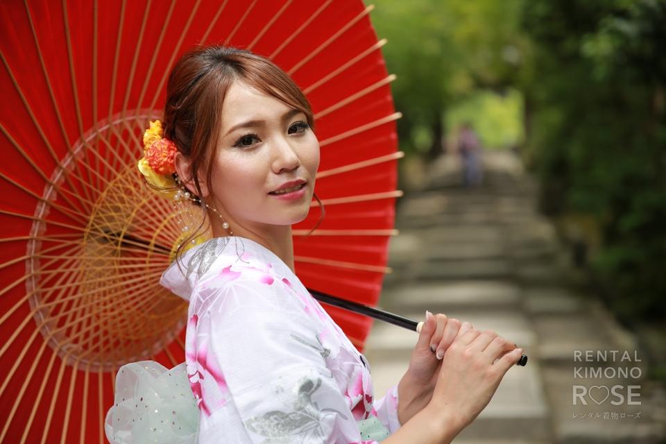 写真:せっかくの京都だから浴衣でロケーション撮影&京都観光