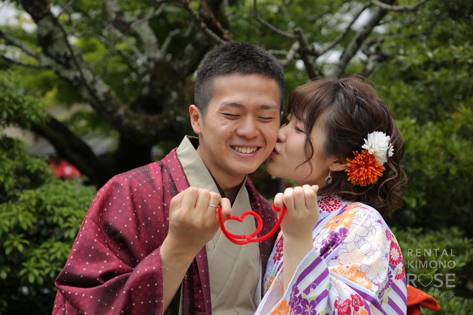 写真:5月の京都で着物デートロケ撮影☆